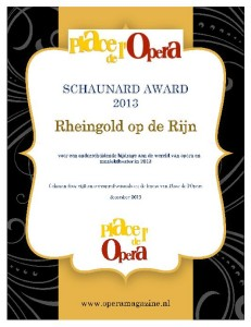 Het Schaunard-certificaat.