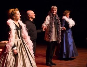 Het ensemble van Pocket Opera (foto: Atze Dijkstra).