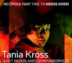 Tania Kross op het affiche van Krossover.