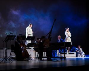 Promotiebeeld van Dido and Aeneas, de nieuwe productie van BarokOpera Amsterdam.