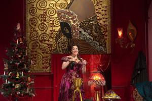 Susanna Philipps als Rosalinde (foto: Ken Howard / Metropolitan Opera).