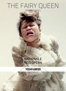 Astari op het affiche van The Fairy Queen, de Reisopera-productie die vanaf 14 februari door het land trekt.