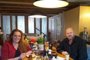 Eva-Maria Westbroek en Frank van Aken.