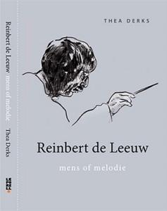 Graficus Guus Glass maakte speciaal voor het boek een ets van Reinbert de Leeuw.
