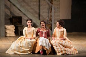 Scène uit Così fan tutte, de eerste productie die in Baarn te zien zal zijn (foto: Marty Sohl / Metropolitan Opera).