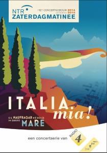Onder het thema 'Italia mia!' werd vorige week het nieuwe seizoen van de NTR ZaterdagMatinee gepresenteerd.