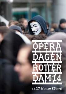 Brochure van de Operadagen Rotterdam 2014 (beeld: Dragan Lekic / Libre arbitre).