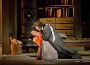Sophie Koch en Jonas Kaufmann (foto: Ken Howard / Metropolitan Opera).