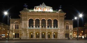 De Wiener Staatsoper, aan de Opernring in Wenen (foto: Peter Haas).