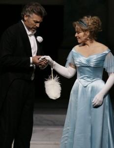 Thomas Hampson en Renée Fleming in Arabella (foto: Forster).