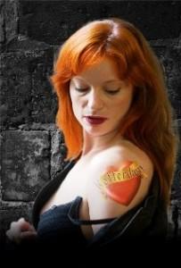 Anna Traub als Carmen.