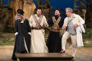 Scène uit Così fan tutte (foto: Marty Sohl / Metropolitan Opera).