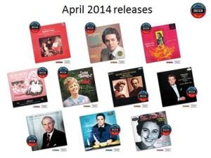 De eerste portie uitgaven in de serie 'Decca's Most Wanted Recitals' bevat 20 cd's.