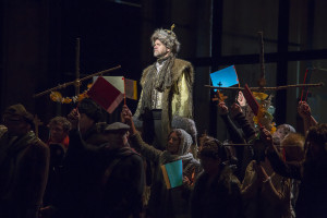 Nanco de Vries als Boris Godoenov (foto: Rob van Herwaarden)