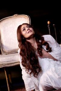 Ailyn Pérez als Violetta (foto: Royal Opera House).