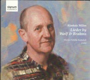 Alastair Miles op de cover van zijn nieuwe cd, geschilderd door Peter Mennim.
