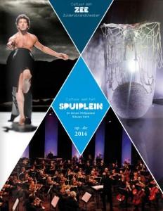 De brochure van het nieuwe muziek- en dansseizoen in Den Haag.