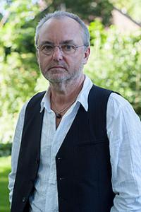 Componist Jacob ter Veldhuis (foto: Bram Tackenvogel).