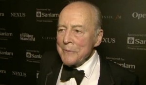 George Christie kreeg in 2013 een Lifetime Achievement Award tijdens de International Opera Awards in Londen.