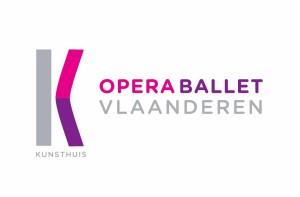 Het nieuwe logo van Opera Vlaanderen, de voormalige Vlaamse Opera.