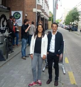 Romy en Gable Roelofsen van Het Geluid Maastricht.