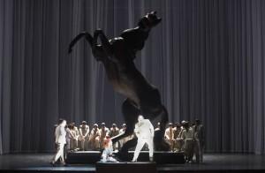Scène uit de Münchener Rigoletto (foto: Wilfried Hösl).
