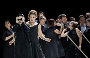 Scène uit Il ritorno d'Ulisse in patria (foto: Monika Rittershaus / Opernhaus Zürich).