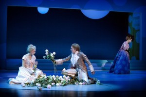 Scène uit Der Rosenkavalier in Malmö (foto: Malin Arnesson).
