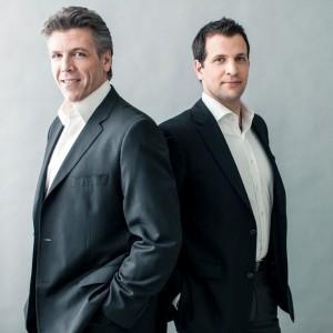 Thomas Hampson en Luca Pisaroni (foto: Dario Acosta).