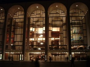 De Metropolitan Opera in New York.