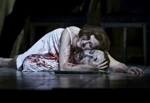 Scène uit de Londense Salome (foto: Clive Barda / Royal Opera House).