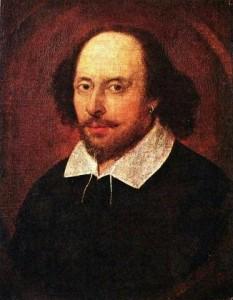 Het Chandos-portret van William Shakespeare.