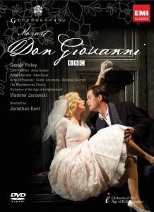 De Glyndebourne-productie van Don Giovanni is ook op dvd uitgebracht.
