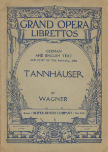 De uitgave van de partituur bij Ditson, begin vorige eeuw