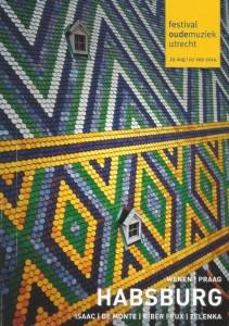 De brochure van het Festival Oude Muziek 2014 (coverbeeld: Merlijn Doomernik).
