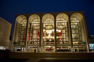 De Metropolitan Opera in New York (foto: Jonathan Tichler / Metropolitan Opera).