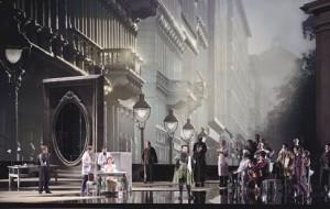 Scène uit Der Rosenkavalier (foto: Salzburger Festspiele / Monika Rittershaus).