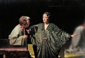 Scène uit Le Rossignol (foto: Ken Howard / Santa Fe Opera).