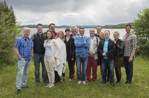 Het artistieke team en de cast van Otello (foto: Opera på Skäret).