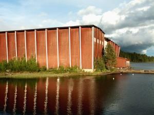 Het operahuis van Opera på Skäret.