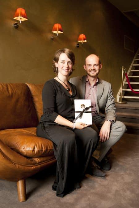 Elise van Es met Libretto én partner (foto: Johanne de Heus).