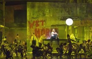 Scène uit de Gurre-Lieder van De Nationale Opera (foto: Ruth Walz).