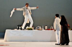 Henk Neven tijdens een eerdere productie van Don Giovanni, bij de Opéra de Rouen.