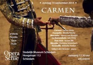 Opera aan de Schie Carmen