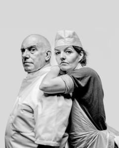 Campagnebeeld van Sweeney Todd (foto: Marco Borggreve).