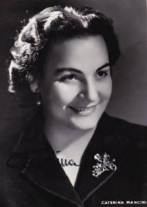Caterina Mancini.