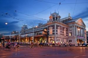 Het Concertgebouw (foto: Leander Lammertink).