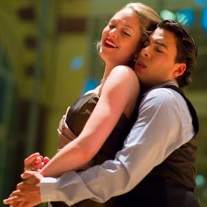 Donij van Doorn met Emmanuel Franco bij Opera per Tutti. Franco is ook op zondag 26 oktober van de partij bij Opera per Tutti (foto: Erik van der Meulen).
