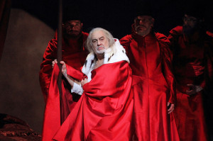 Plácido Domingo in I due Foscari (foto: Catherine Ashmore).