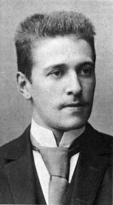 Een jonge Hugo von Hofmannsthal.